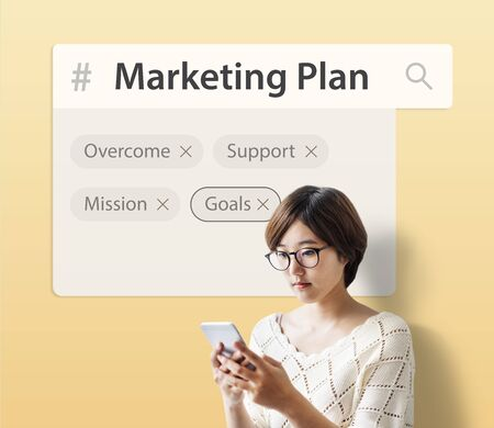 Marketing plan target strategy scheme objective proposal
