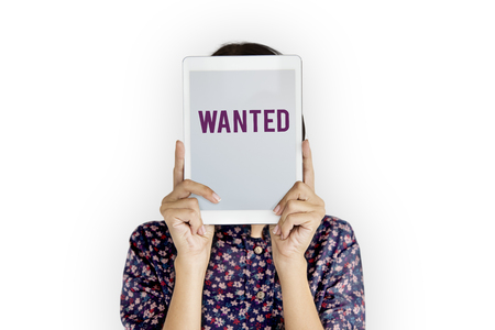 必要な募集を募集求人採用 写真素材