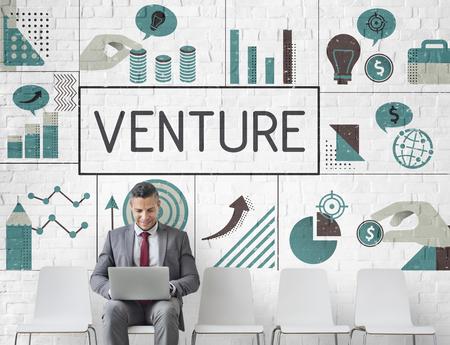 実業家計画金融投資チャート