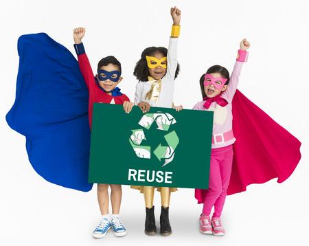 niños reciclando: Environment Conservation Preservation Save Earth