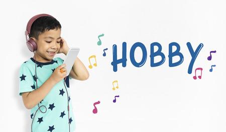 子供の初期教育音楽活動子供のため 写真素材