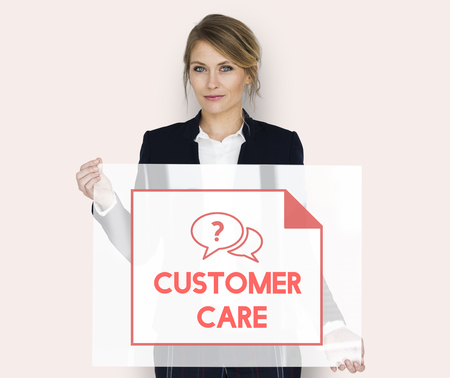Faq Frequently Asked Questions Customer Service Stock Photo