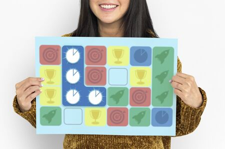matching: Chart Pie Spaceship Target Arrow Matching Game