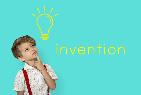 Ideas Light Bulb Think Create Graphic Word Imagens