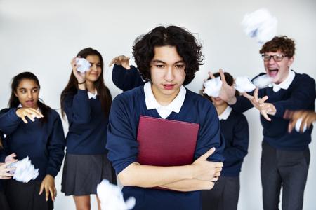 학교 괴롭힘에서 고문당한 학생