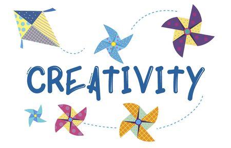 Childhood Leisure Hobby Imagination Concept Stock Photo