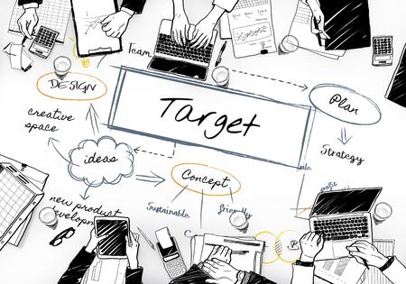 Sketch of target mind map