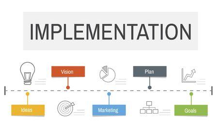 Expansion Way Success Implementation Business Venture Stock Photo