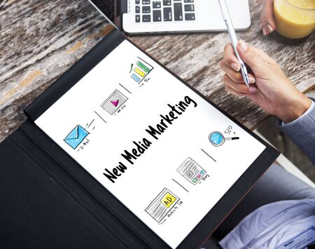 insights: Online Strategy Media Marketing Icons