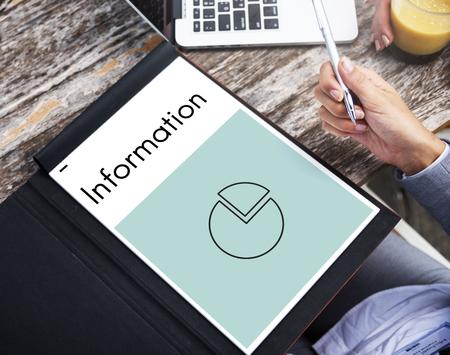 report icon: Business progress report pie graph icon