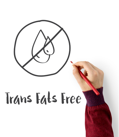 Trans Fats Free Lifestyle Concept