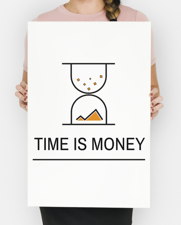 Hourglass Sandglass Timer Icon Word