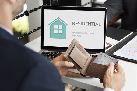 Home Insurance Coverage Estate Residential Stock Photo - 80732255