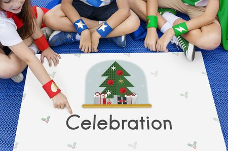 heros: Christmas  Celebration Party Xmas Concept