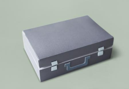 서류 가방 격리 된 배경 비즈니스 가방
