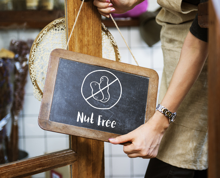 Nut Free Healthy Lifestyle Concept