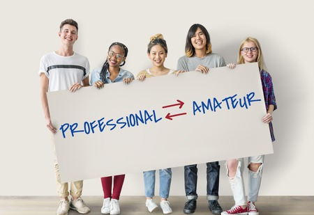 professional occupation: Professional Amateur Expertise Position Occupation