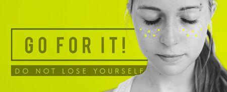 urging: Positivity Encouragement Optimism Concept Word Stock Photo
