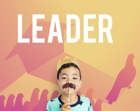 리더십 리더 리드 뛰어난 그래픽 조류