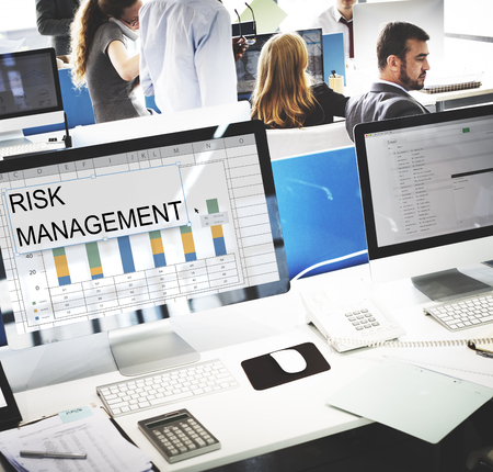 Challenge Solution Performance Risk Management Stock Photo