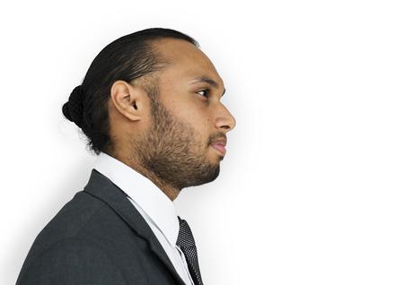 Man confiance Self Esteem Portrait Concept Banque d'images - 80754312
