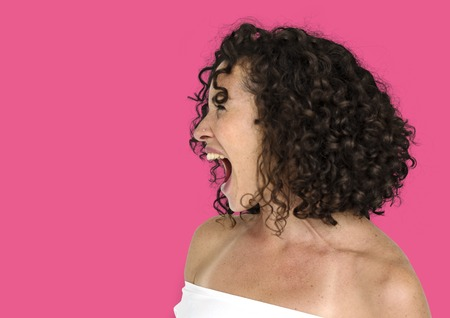 Adult Women Scream Shout Expression Studio