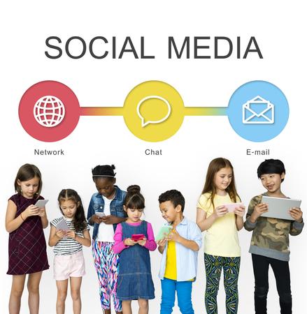 Social Media Connection Communicatie Netwerken
