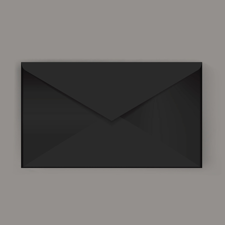 Email correspondence icon vector illustratiom Stock Illustratie