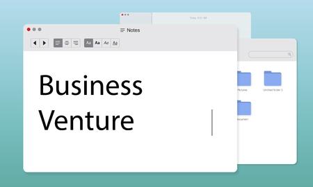 New Business Venture Entrepreneur Concept Stock fotó