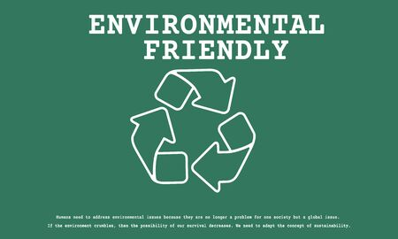 Sustainable Environmental Ecology Nature Recycle Planet Stock fotó