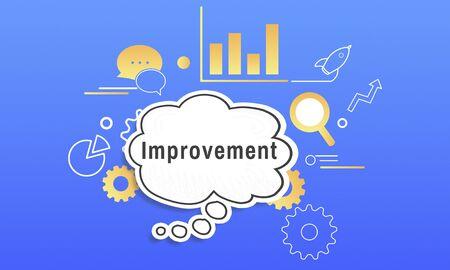 Communication Management Development Strategy Improvement Фото со стока - 80720627