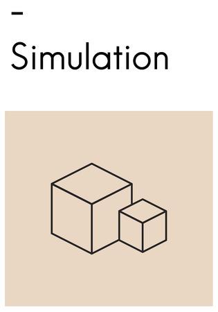構成レイアウト シミュレーション スタイル創造 写真素材