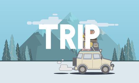 발견 여행 여정 여행의 그림 스톡 콘텐츠