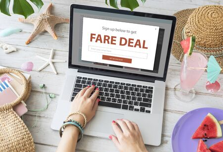 Promotion Fare Deal Sale Special Offer 版權商用圖片