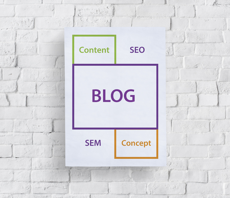 website words: Blog SEO Content Word Boxes
