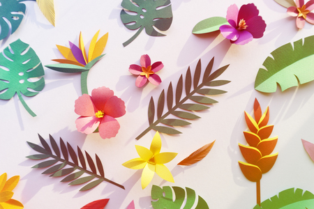 papercraft: Tropical Handcrafted Papercraft Nature Petals