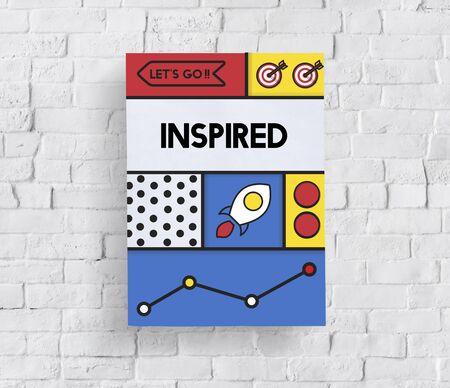 Inspired Hopeful Motivation Optimistic Word