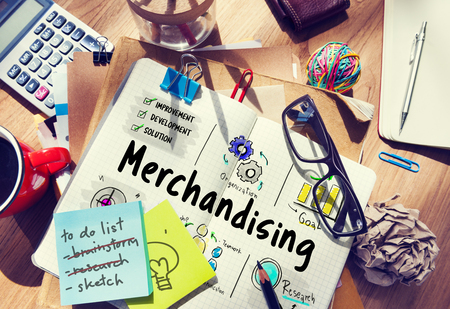 Merchandising business management strategy sketch