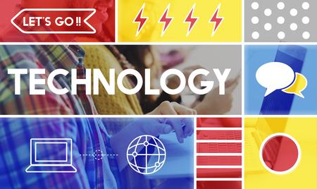 Modern Technology Innovation Future Concept
