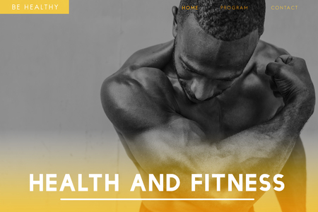 Health and fitness concept with background 스톡 콘텐츠