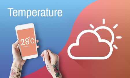 body temperature: Weather Forecast Season Cloud Icon
