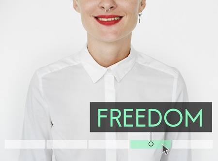 Freedom Enjoyment Good Vibes Independence Stock Photo