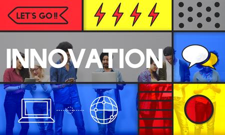 혁신 창조적 아이디어 상상력 현대