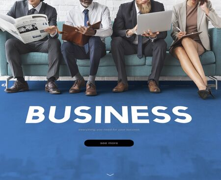 website words: Business Company Organization Commercial Stock Photo