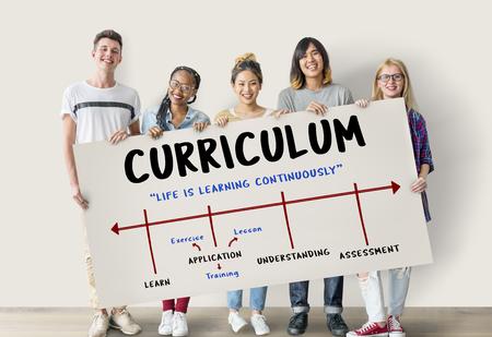 study: School Academy Institute Certification Arrow
