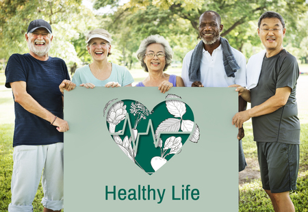 Balance Health Living Lifestyle Vatality Wellness Stock Photo