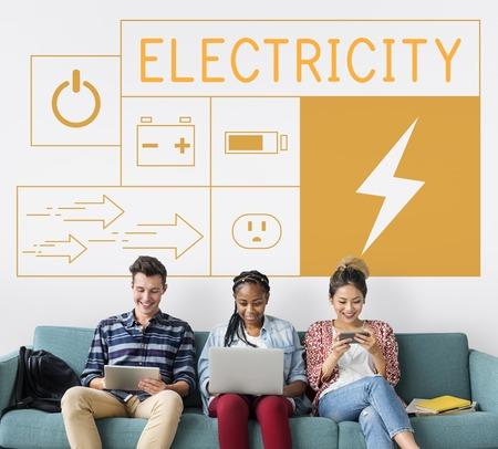 省エネルギーの持続可能性を持つ人々 の電源世代キャンペーン