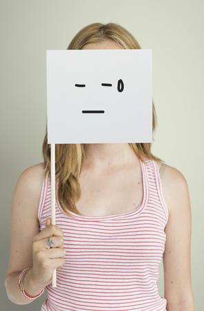 Dibujo Expresiones faciales Emociones Sentimientos Foto de archivo - 80727476