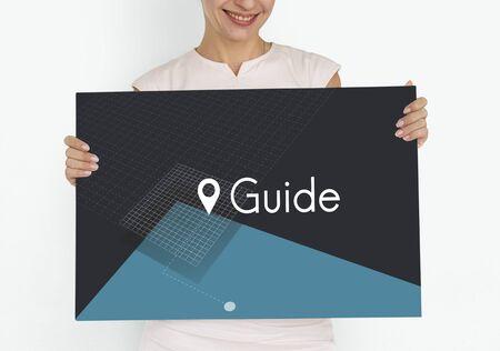 GPS location map travel graphic Stock fotó