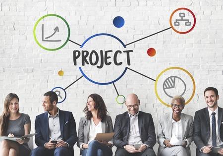 仕事のプロジェクト活動操作の概念